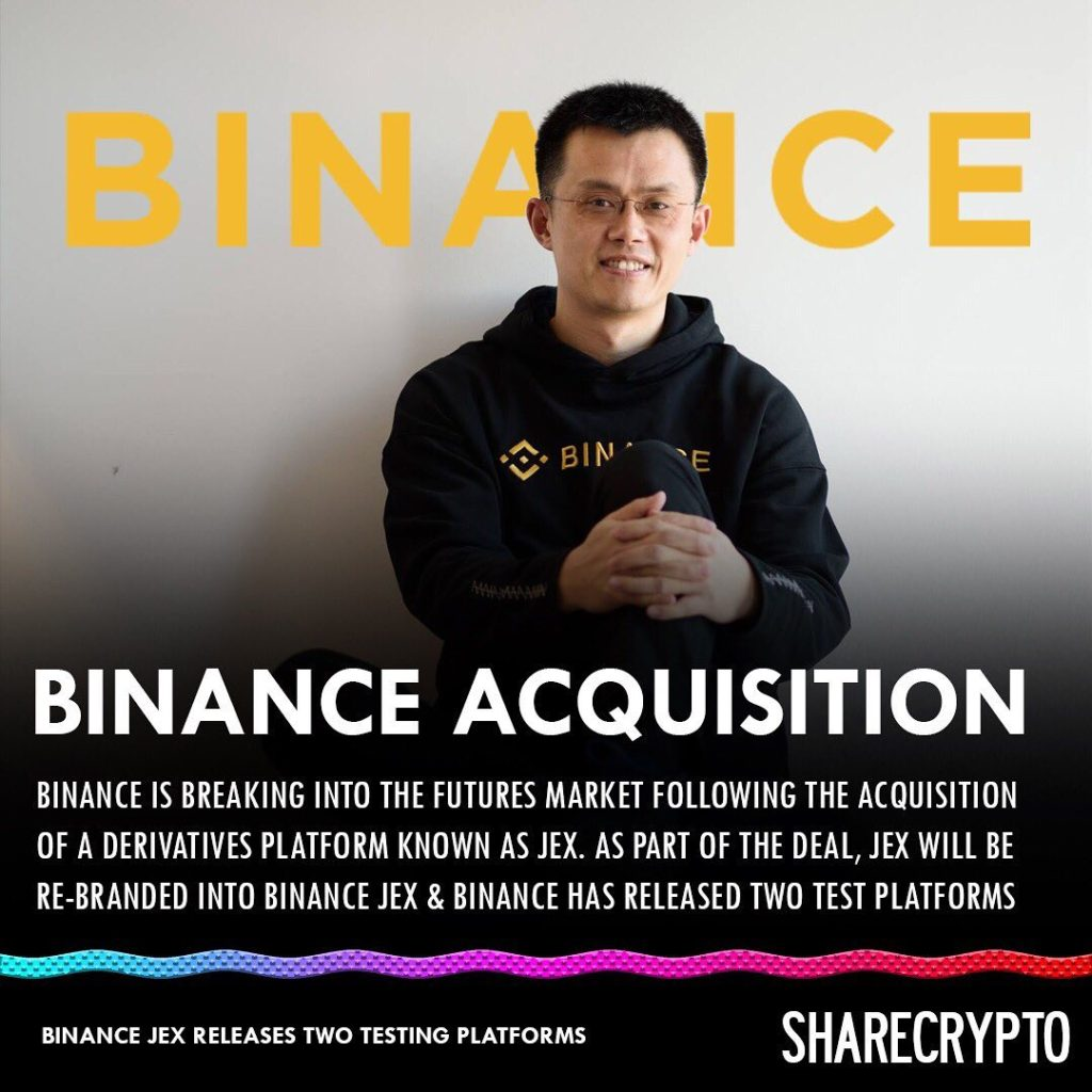 ShareCrypto Binance Acquisition Instagram Post