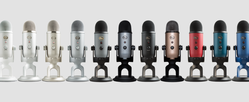 Blue Yeti USB Microphone colors