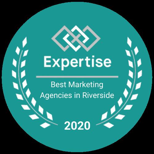 Expertise Coinbound Award Top Marketing Agency Riverside 2020