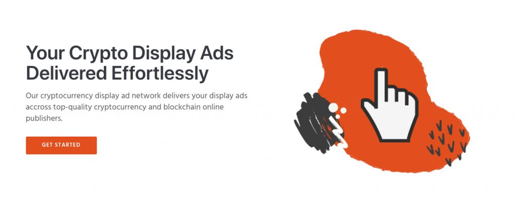 Coinbound Display Ad Network Screenshot