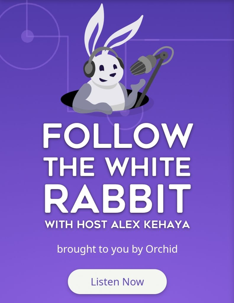Follow the White Rabbit podcast